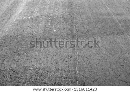 Asphalt pavement as a background. Asphalt as an abstract background. #1516811420