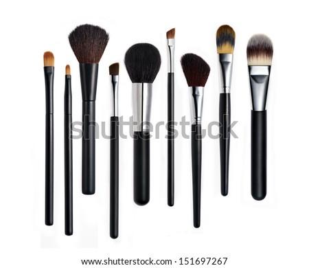 Make-up Brushes Royalty-Free Stock Photo #151697267
