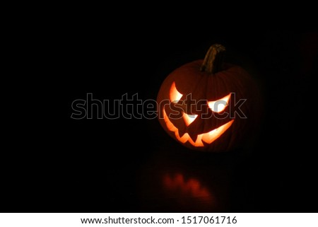 full black background with Halloween lights, best view for Halloween. #1517061716