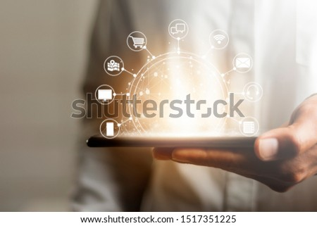 Men who use online communication to choose services from the internet that is sent through the global network. #1517351225
