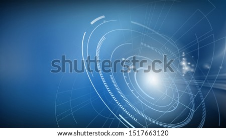 Abstract futuristic background with high technologies vector illustration. Vector. #1517663120