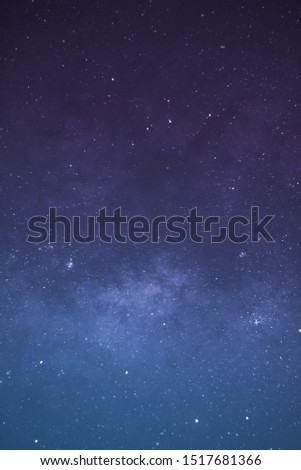 Milky Way Galaxy and stars #1517681366