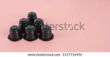 Espresso capsule for  espresso machine coffee maker. #1517716496