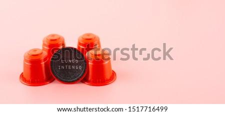 Espresso capsule for  espresso machine coffee maker. #1517716499