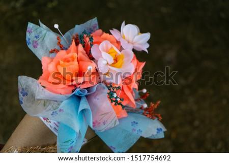 Bouquet, bouquet, holding graduation ceremony, Valentine's bouquet, bouquet #1517754692