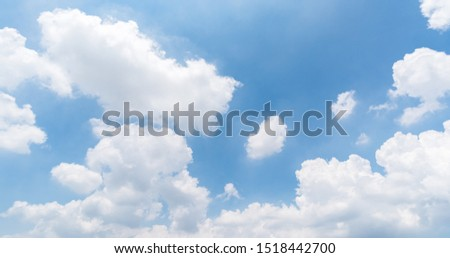 clear blue sky background, circular facula and beautiful wallpaper.  #1518442700