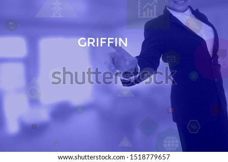 GRIFFIN - technology and business concept  #1518779657