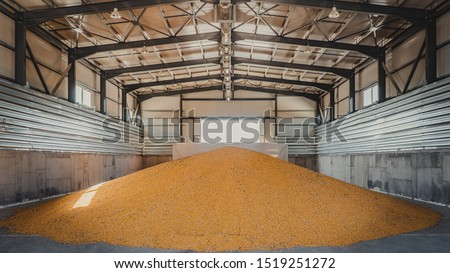 tons of corn in warehouse #1519251272