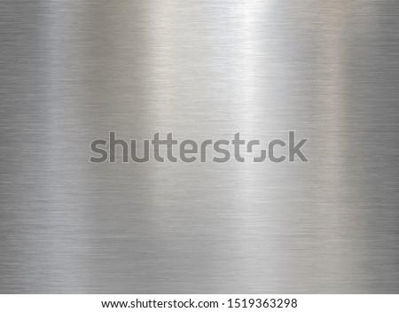 brushed steel or aluminum metal texture #1519363298