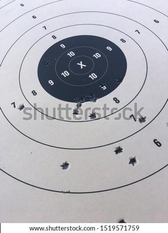 Target practice shooting paper targets to shoot. #1519571759