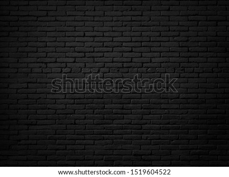 Black brick wall background or textured #1519604522