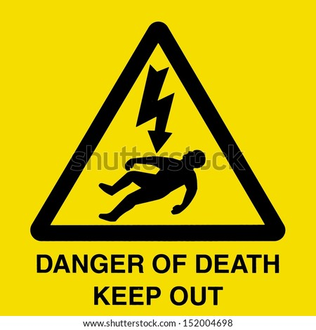 Generic High Voltage Danger Sign