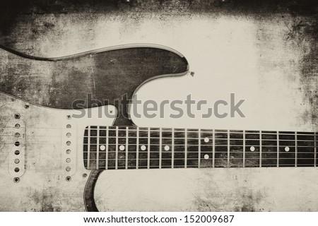 "Electric guitar backgrund ""grunge"""