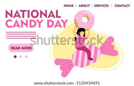 illustration national candy vector design  #1520434691