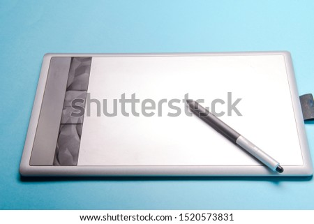 Graphic tablet with pen for illustrators and designers #1520573831