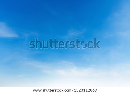 landscapes blue sky with white cloud and sunshine #1523112869