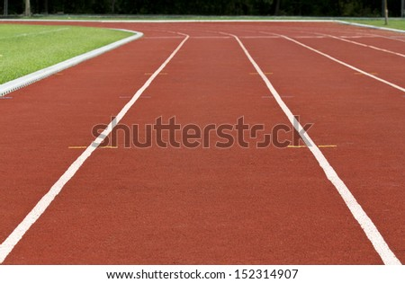 Finish line Running track #152314907