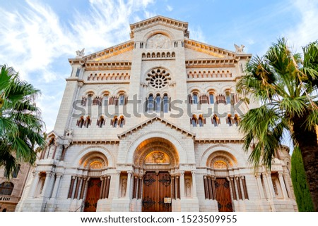 Saint Nicholas Cathedral - Monaco Cathedral, also called The Cathedral of Our Lady Immaculate #1523509955