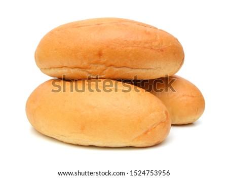 mini bread on white background  #1524753956