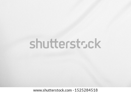 Details, High image resolution of the white fabric, cloth wave texture background, Empty space.