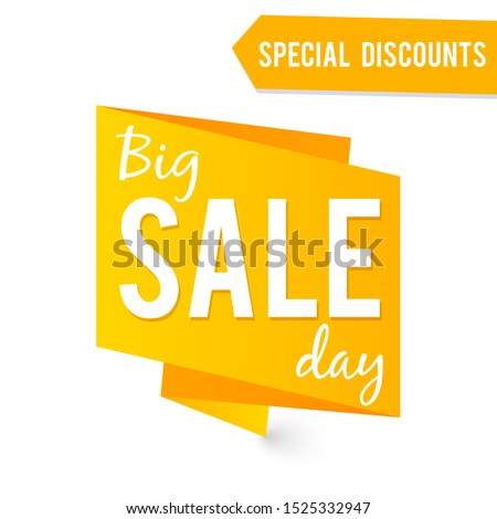 Big Sale label isolated on white #1525332947