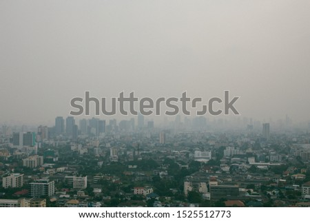 Pollution or Fogs in the City #1525512773