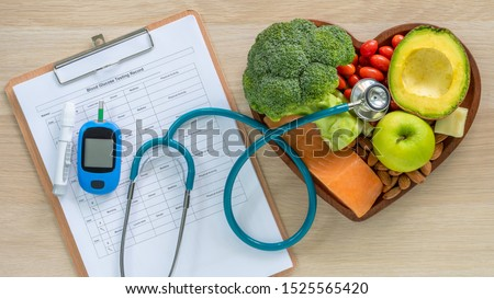 Keto food for ketogenic diet or atkins diet, healthy nutritional food eating lifestyle for good heart health with high protein, fat, low-carb to prevent heart disease and diabetes illness control #1525565420