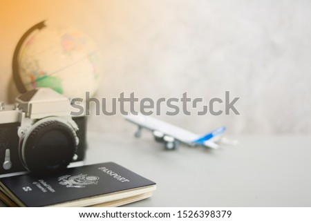 Conceptual images of holiday travel #1526398379