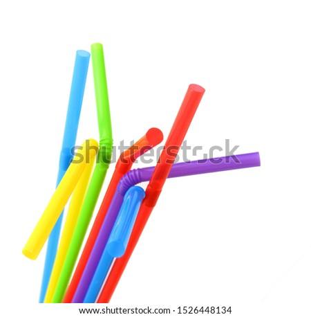 Straw plastic straw drink straw - Image  #1526448134