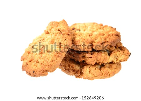 Cookies on a white background #152649206