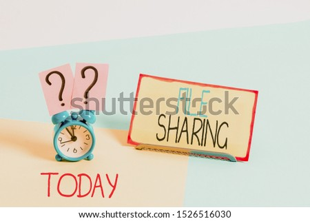Text sign showing File Sharing. Conceptual photo transmit files from one computer to another over a network. #1526516030
