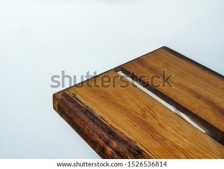 Oak covered in epoxy bath countertop #1526536814