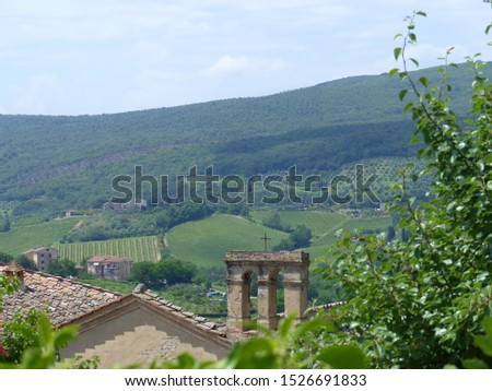 Typical Tuscany landscapes, Tuscany, Italy #1526691833