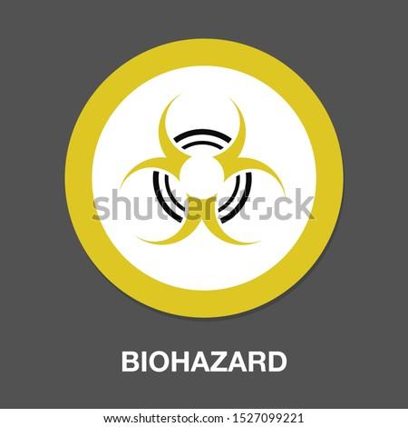 hazard icon dangerous symbol - biohazard symbol symbol - danger sign #1527099221