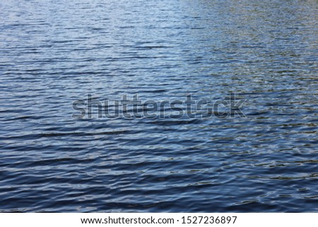 water surface lake pond small waves #1527236897