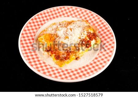Italian Style Pasta Food , digital image picture