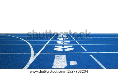 Running track for the athletes background, Athlete Track or Running Track #1527908204
