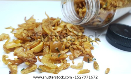 fried onions in tasty and tasty packaging #1527971672