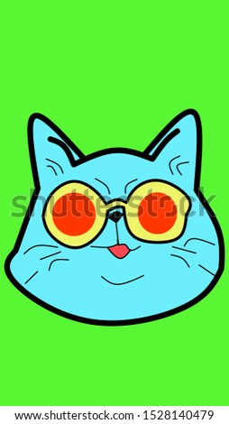 cat face images for smartphone wallpapers