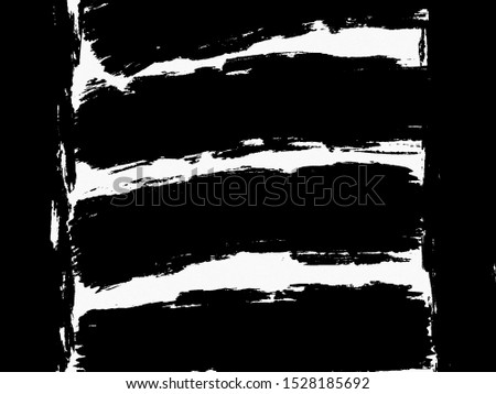 Black and white zebra crossing paintings #1528185692
