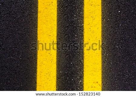 Asphalt Road Background or Texture  #152823140