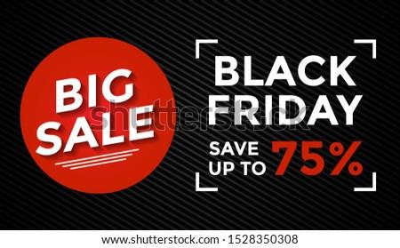 Template background black friday big sale #1528350308