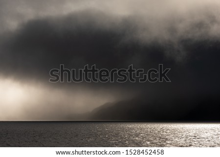Stormy skies over the sea to Skye #1528452458