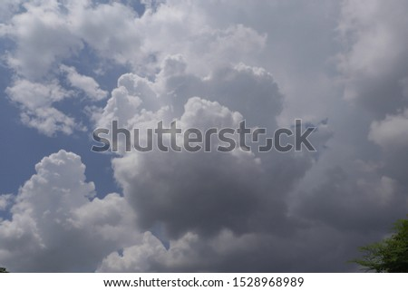 Cloudy on overcast overcast day. #1528968989