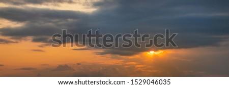 Sunset summer sunshine. Sunset sunshine. #1529046035