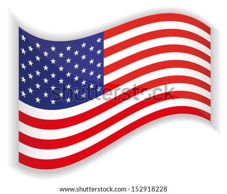 USA Flag,Vector illustration,EPS10. #152918228