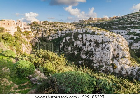 Landscape of the island of Gozo, Malta #1529185397