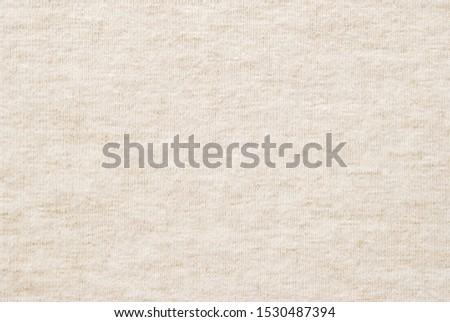 Beige melange heather fabric texture as background #1530487394