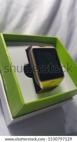 Be Smart with smart watch. #1530797129
