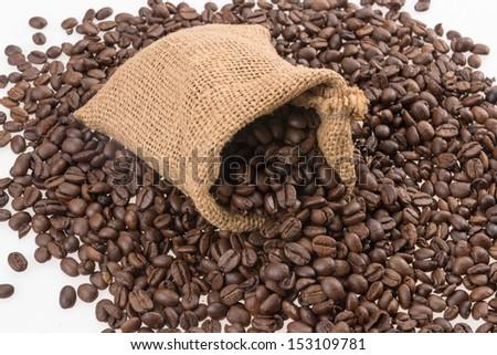 Coffee beans #153109781